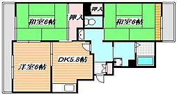 東京メトロ東西線 浦安駅 徒歩15分の賃貸アパート 1階3DKの間取り