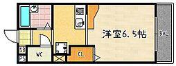 ハイメディア21[3G号室]の間取り