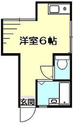 たかせハイツ[2階]の間取り