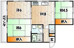 藤松スカイハイツ[2階]の間取り