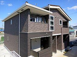 愛知県西尾市巨海町南浜田の賃貸アパートの外観