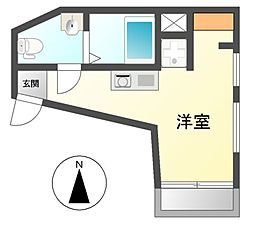 Maisorie車道[3階]の間取り