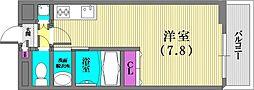 サムティキャナル神戸[2階]の間取り