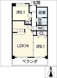 Shangri−La[2階]の間取り