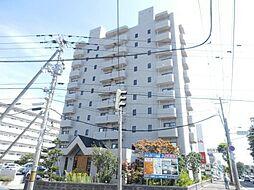 北海道札幌市白石区南郷通20丁目北の賃貸マンションの外観