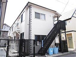 東京都大田区北糀谷2丁目の賃貸アパートの外観