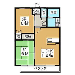 メゾンSATO[2階]の間取り