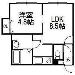 セントニア46[2階]の間取り