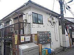 東京都板橋区中台1丁目の賃貸アパートの外観