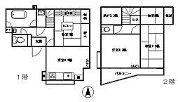 稲川邸 2階4SDKの間取り