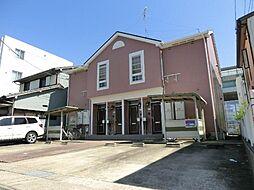 愛知県名古屋市西区上橋町の賃貸アパートの外観