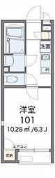 小田急小田原線 本厚木駅 バス38分 春日台入口下車 徒歩4分の賃貸アパート 2階1Kの間取り