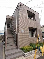東京都葛飾区高砂4丁目の賃貸アパートの外観