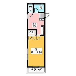 S・Kパレス[2階]の間取り