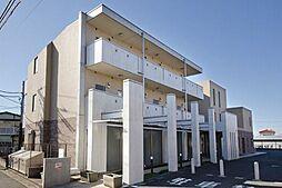 東京都調布市佐須町4の賃貸マンションの外観