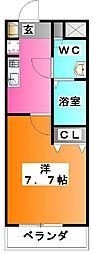 東京都北区赤羽3の賃貸マンションの間取り