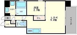 LUX GARDEN[3階]の間取り