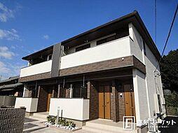 愛知県みよし市打越町新池浦の賃貸アパートの外観