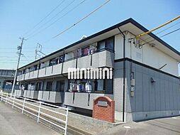 静岡県藤枝市高柳4丁目の賃貸アパートの外観