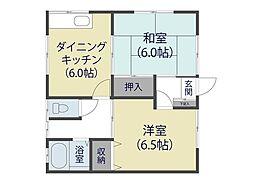 [一戸建] 埼玉県草加市中根3丁目 の賃貸【/】の間取り