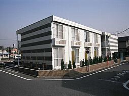 東京都福生市南田園2丁目の賃貸アパートの外観