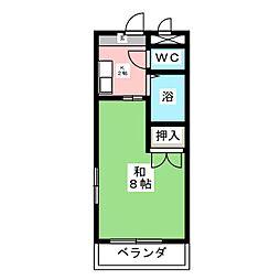 サンシャイン菊住[2階]の間取り