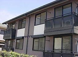 広島県福山市曙町4の賃貸アパートの外観