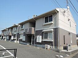 福岡県北九州市八幡西区下上津役4丁目の賃貸アパートの外観