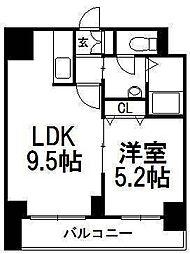 Treasure Court A[6階]の間取り