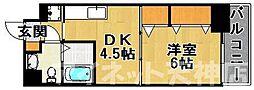 リバティ高砂六番館[8階]の間取り
