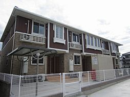 徳島県板野郡北島町高房字東野神本の賃貸アパートの外観