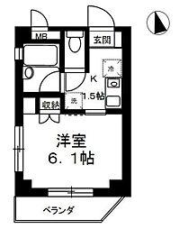 ロハス・マンション[5階]の間取り