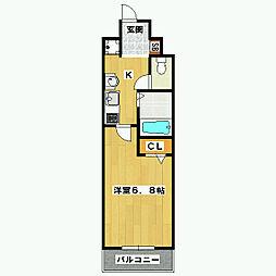 シカタシスビルディング[9階]の間取り