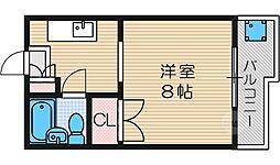 コーポヨシオカ[3階]の間取り