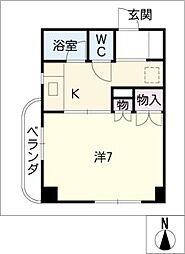 ユングハイム小幡[3階]の間取り