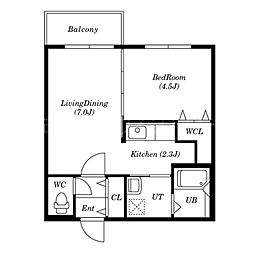 PrinceHomesS517[2階]の間取り