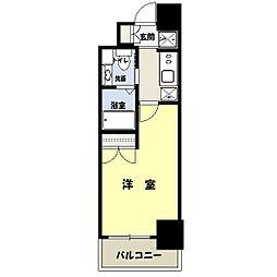 レジディア月島3[1104号室]の間取り