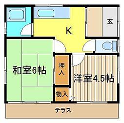 [一戸建] 埼玉県朝霞市泉水1丁目 の賃貸【/】の間取り