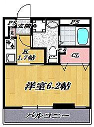 Soleil宮崎台[102号室号室]の間取り