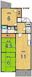 ローファス小島[2階]の間取り