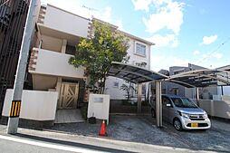 福岡県久留米市西町の賃貸アパートの外観