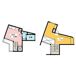 Kフラッツ[2階]の間取り