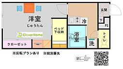 東京都町田市根岸1の賃貸アパートの間取り