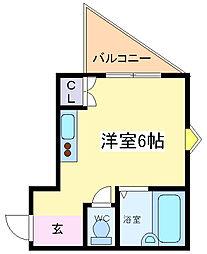 R-stayI[4階]の間取り