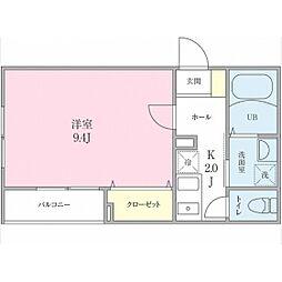 (仮称)船橋市海神町2丁目プロジェクト[101号室]の間取り