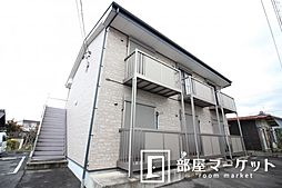 愛知県豊田市花園町井田の賃貸アパートの外観