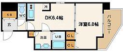 プロシード大阪WESTアドリア[15階]の間取り