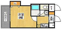 ビガーポリス133宝塚[803号室]の間取り