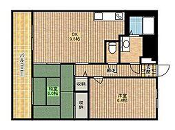 SHIMADAブルーム[1階]の間取り