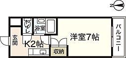 メゾン増井[1階]の間取り